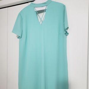 She + Sky mint dress